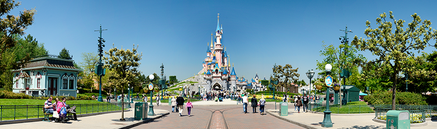 850x250 Disney kasteel retail